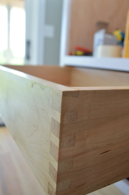 drawers installed in custom cabinets7