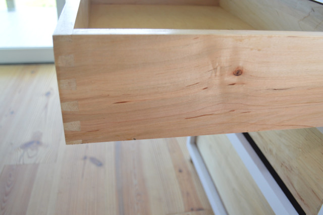 drawers installed in custom cabinets9
