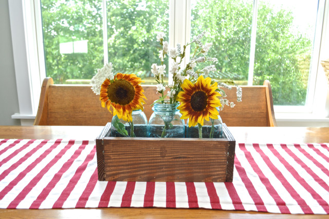 how to make a DIY wood box centerpiece6
