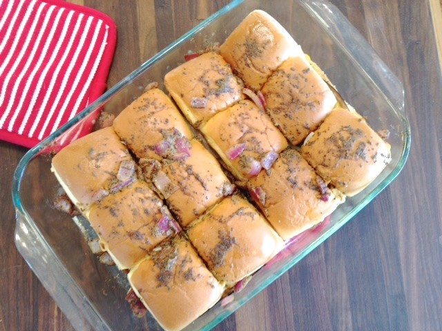 Best ever party sliders hawaiian rolls recipe newlywoodwards these are the trifecta of party food forumfinder Image collections