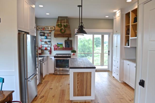 White kitchen cabinets design 01