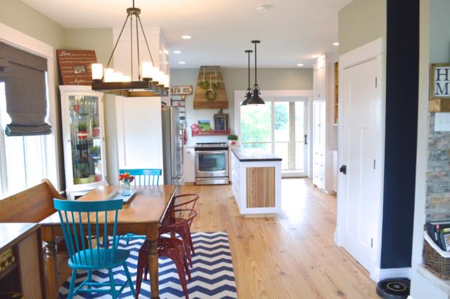 White kitchen cabinets design 03