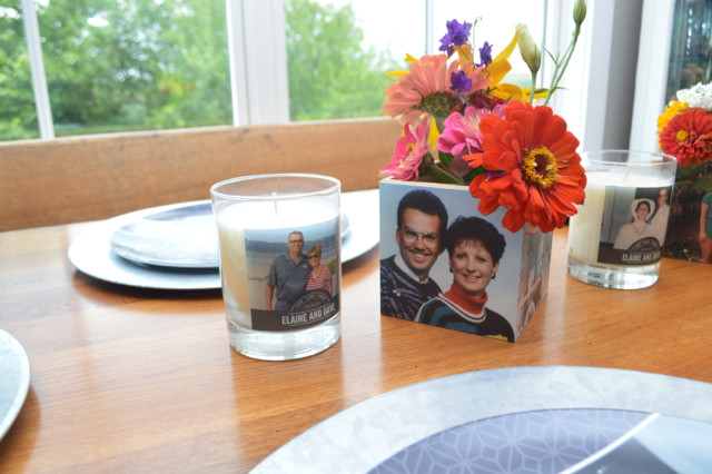 how to make a photo cube into a vase3