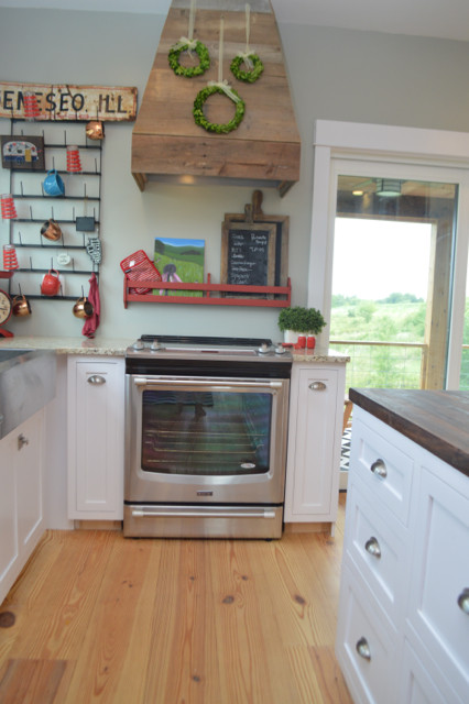 maytag stainless appliances in a white kitchen5