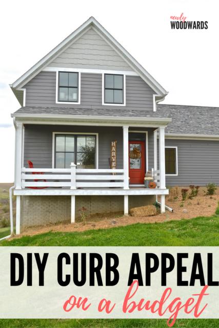 DIY curb appeal ideas - on a budget