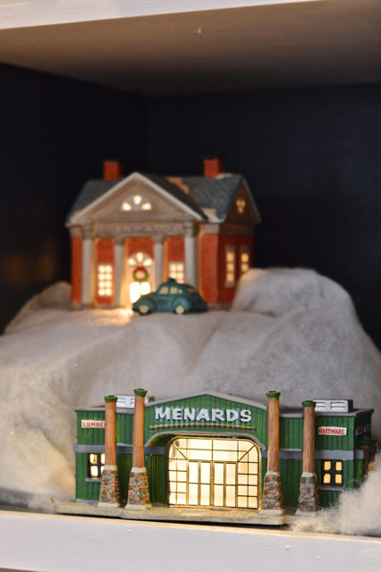 Menards Christmas Village.It Takes A Christmas Village Newlywoodwards