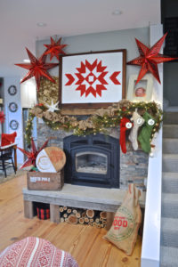 A fireplace for Christmas