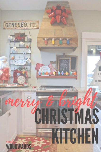 Lots of festive ideas to decorate your kitchen over the holidays.