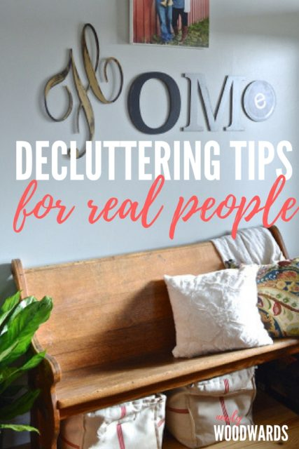 Easy decluttering tips for real people