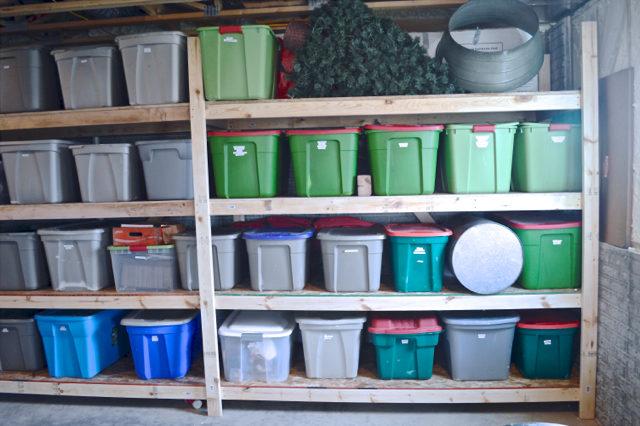 basement storage shelves for bins1