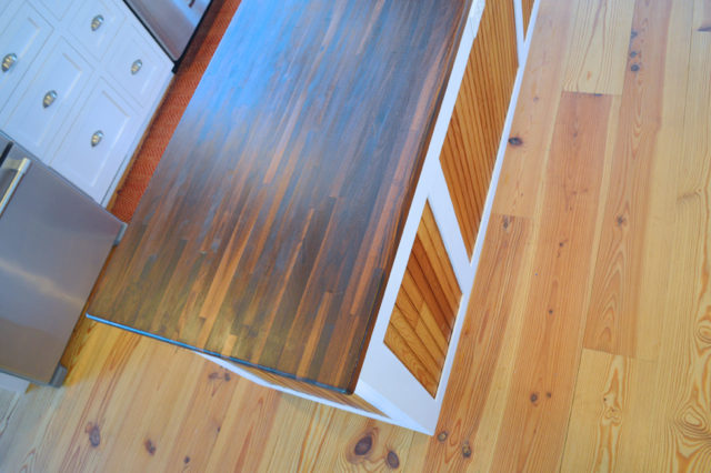 Choose a food safe wood sealer on your butcher block island - it's easy with pure tung oil