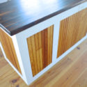 Pure tung oil is a food safe wood finish for butcher block island12
