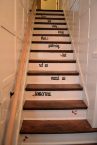 Love lyrics staircase