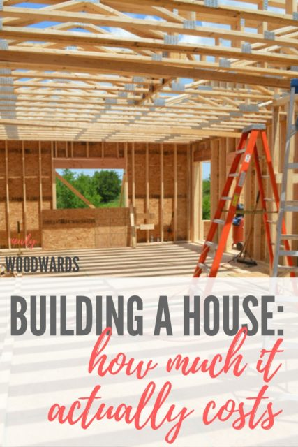 building our own house how much did it actually cost
