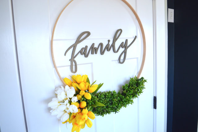 hoop wreath with tulips2
