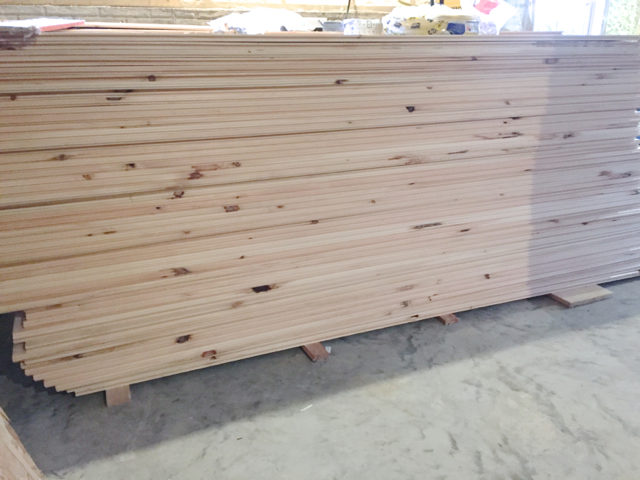 The next big project: Shiplap in the basement family room