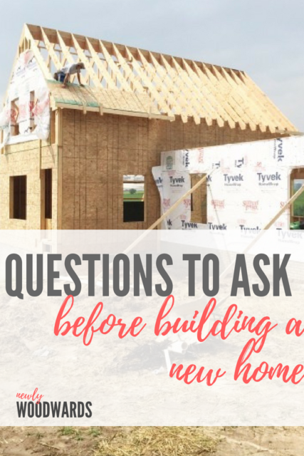 What to know before building a home newlywoodwards for Things to consider before building a house