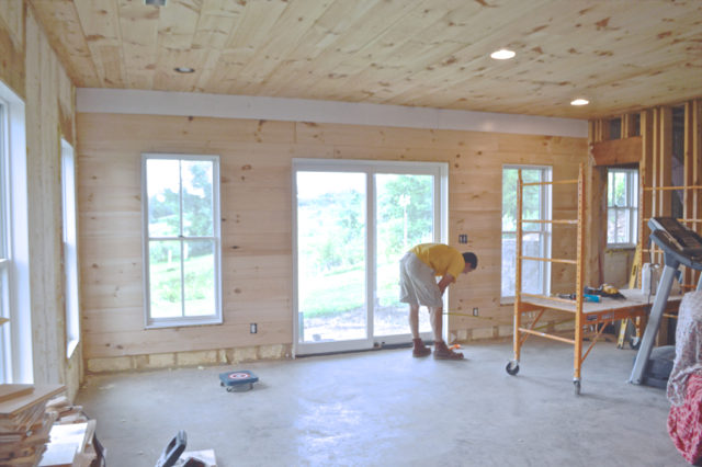 Installing Wood Flooring On Walls