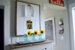 Creating a flexible display for kid art