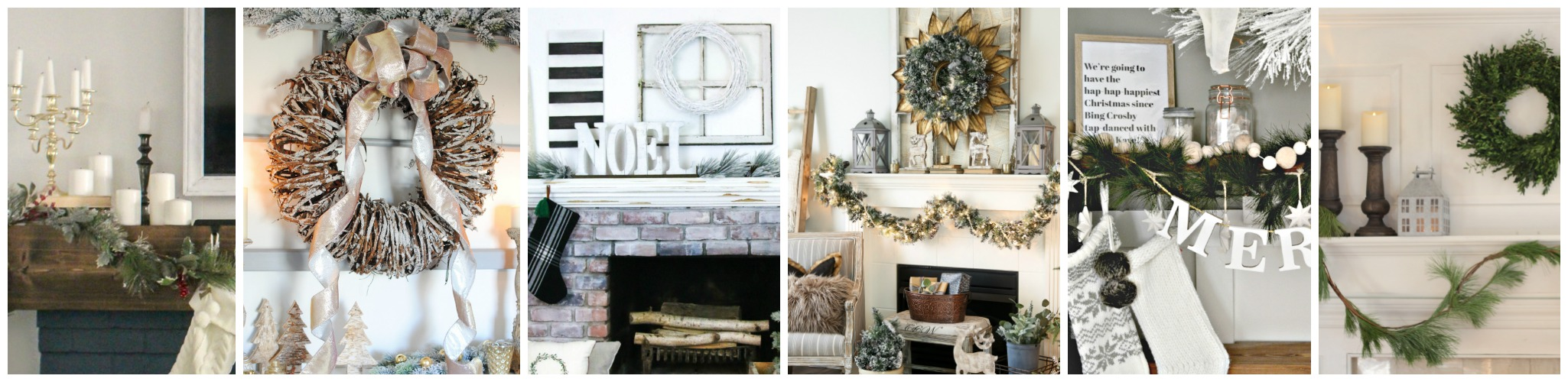 Holiday mantel inspiration