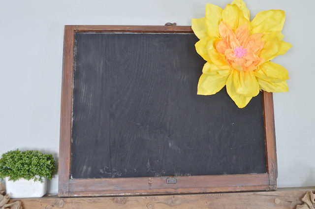 How To Make Giant Paper Flowers Newlywoodwards